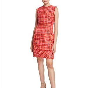 Elie Tahari | Andrea Sleeveless Tweed Dress Size 0